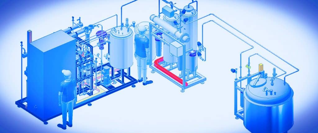 Bram-Cor GMP reference standards. Turnkey project for IV solution plant