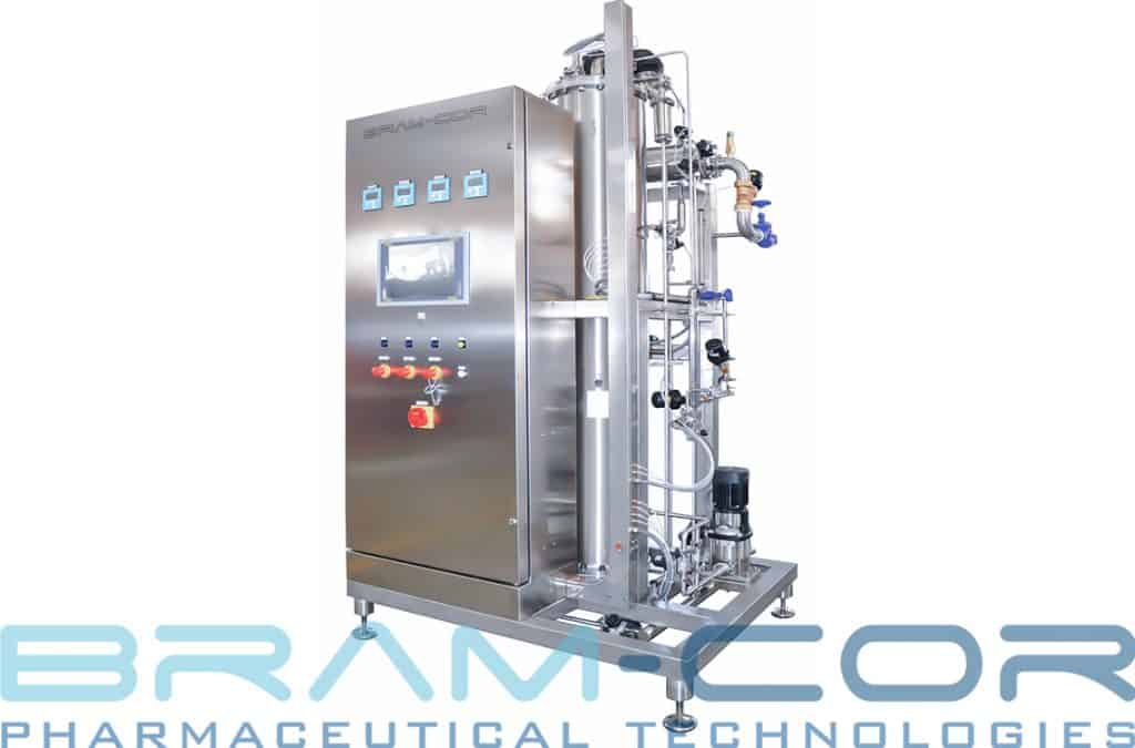 Methods of producing WFI – Water for Injection: a classic BRAM-COR Single Effect Distiller